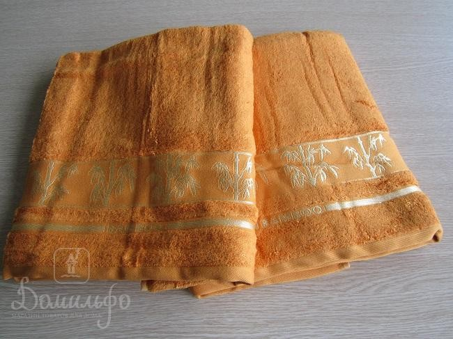 Полотенце бамбуковое Towelist Mustard, 90х150