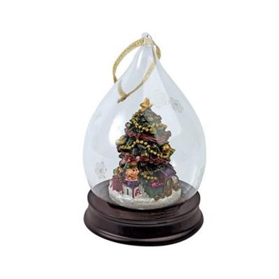 Ёлочное украшение с рождественской ёлкой
