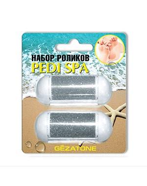 Комплект сменных роликов для роликовой пилки Pedi Spa 125D Gezatone