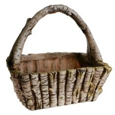 Кашпо Деревянная корзина