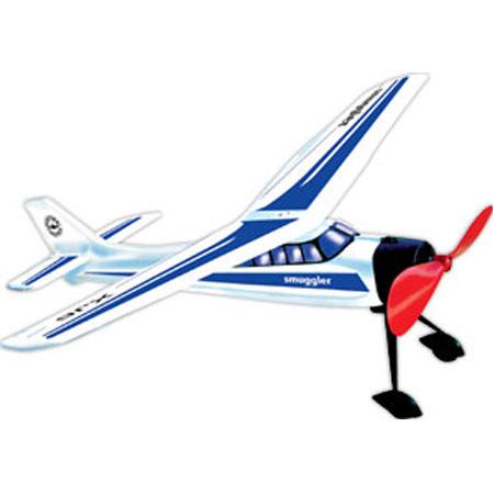 Самолет с резиномотором Smugler