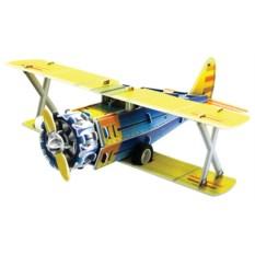 Инерционный 3D-пазл с мотором IQ Истребитель F41-B
