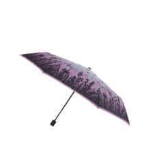 Облегченный женский зонт Fabretti в три сложения