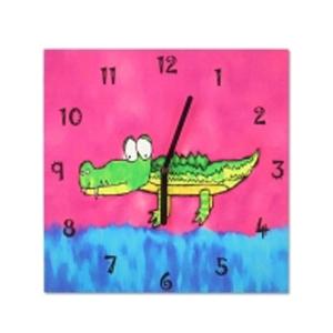 Часы настенные «Крокодил»