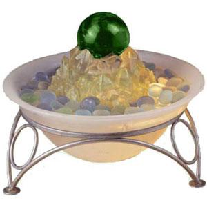Декоративный комнатный фонтан «Зелёный шар»