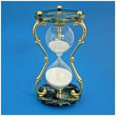 Песочные мраморные часы