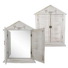 Зеркало-ставни в стиле Прованс