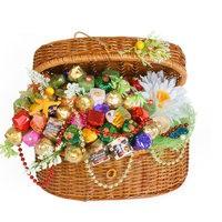 Букет из конфет Морские сокровища