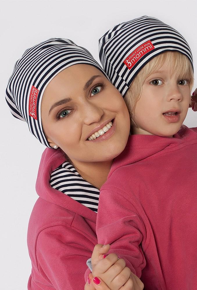 Комплект шапок Neo для мамы и ребенка