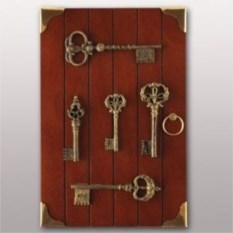 Ключница Старые ключи
