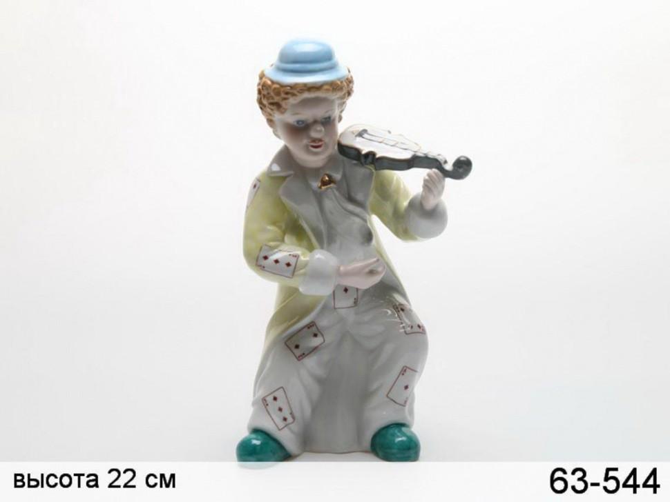 Статуэтка Клоун со скрипкой Hangzhou Jinding