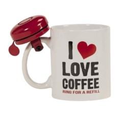 Кружка со звонком Love Coffee