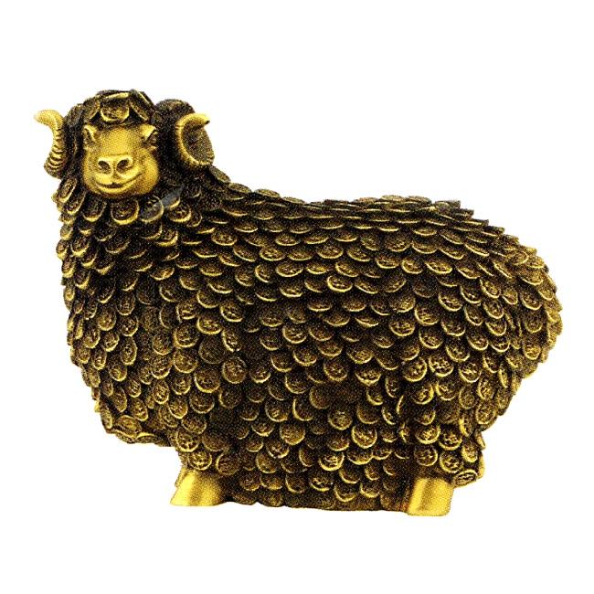 Статуэтка «Овца с деньгами»