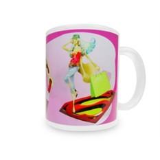 Кружка Супер жена с вашей надписью