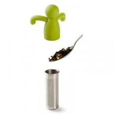 Зеленая емкость для заваривания чая (ситечко) Buddy