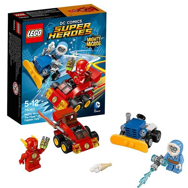 Конструктор Флэш против Капитана Холода Lego Super Heroes