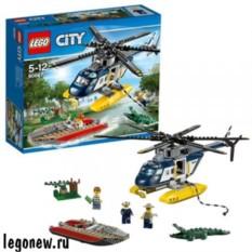 Контруктор Лего Город Погоня на полицейском вертолете