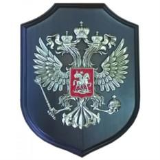Настенное панно на деревянной подложке Герб России
