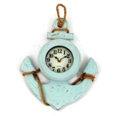 Настенные часы Корабельный якорь