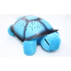 Светильник-проектор Черепаха голубого цвета