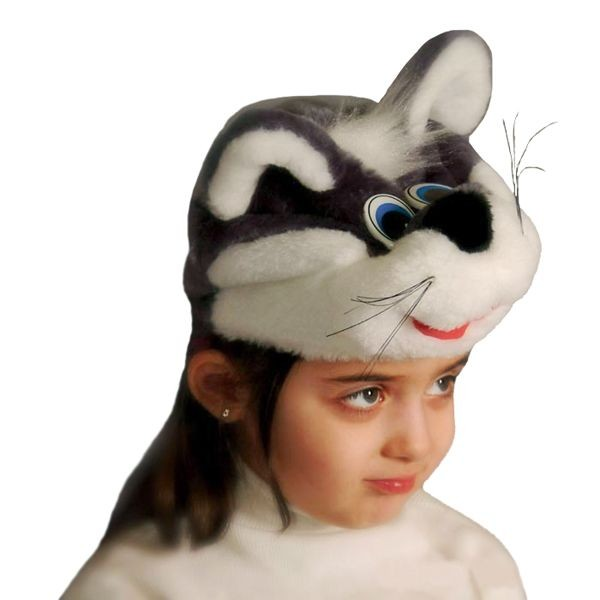 Карнавальная шапочка Котенок