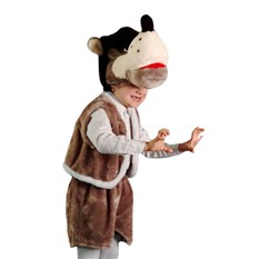 Карнавальный костюм Волк, 3-7 лет