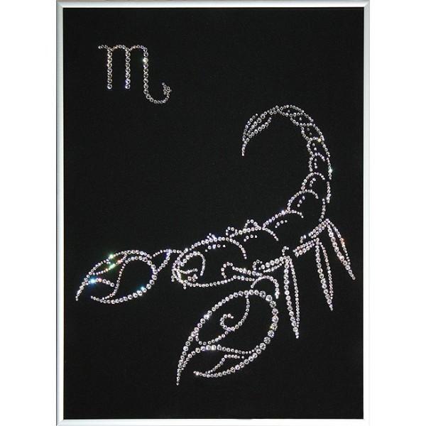 Картина Swarovski Знак зодиака - Скорпион