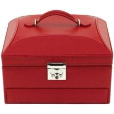 Красная шкатулка для хранения украшений Ларец