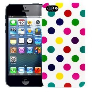 Чехол для iPhone 5 Peas (белый)