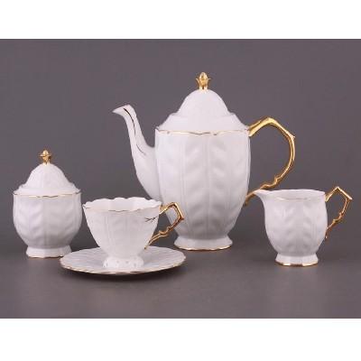 Чайный сервиз на 6 персон Ветка