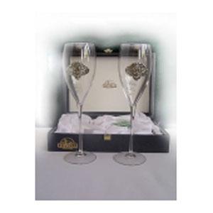 Набор свадебных бокалов под шампанское  «Голуби»