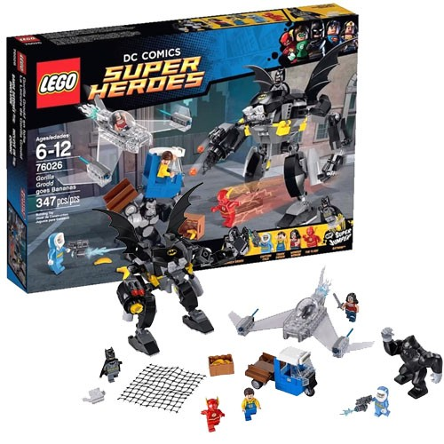 Конструктор - LEGO Super Heroes Свирепость Гориллы Гродда