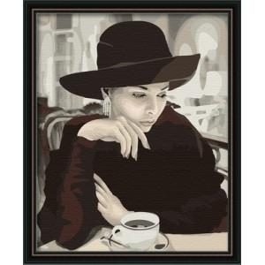 Картина по номерам Мадам