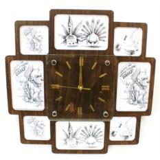 Часы- фоторамки Коллаж