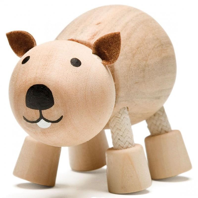 Деревянная игрушка Anamalz Дикие звери
