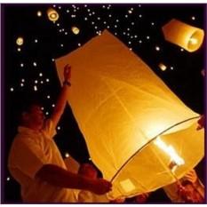 Большой летающий фонарик Цилиндр