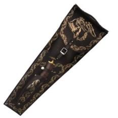 Набор с шампурами На охоте VIP со златоустовским ножом