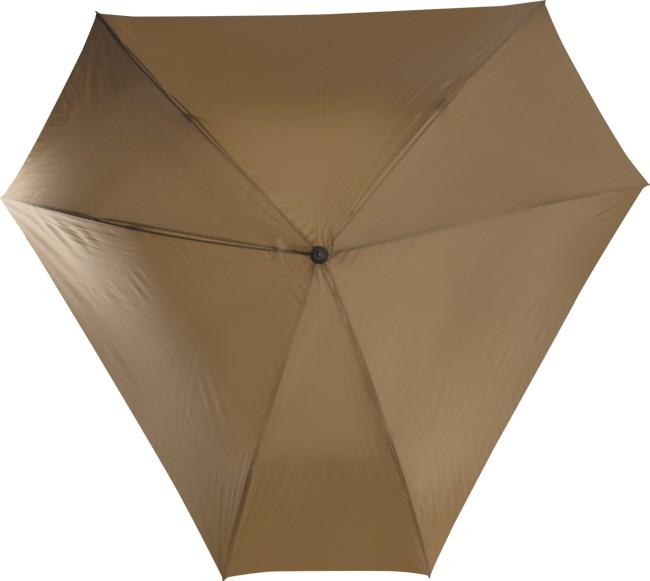 Механический зонт-трость Triangle, коричневый