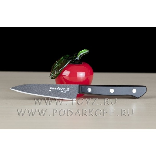Нож кухонный овощной Samura by mac