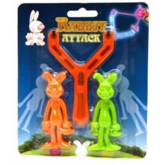 Игрушечная рогатка Резиновый заяц
