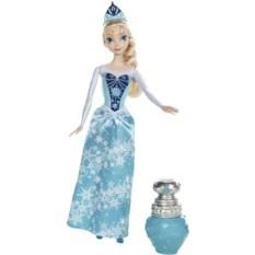 Кукла в меняющем цвет платье Эльза. Холодное Сердце