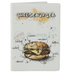 Обложка для паспорта Чизбургер