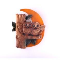 Ключница-панно Совы