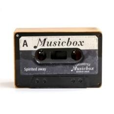 Музыкальная коробочка Retro Cassette Swan Lake Black
