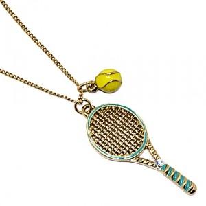 Подвеска Tennis (gold)
