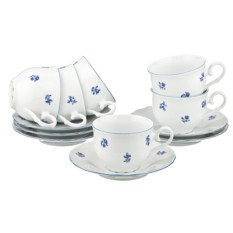 Чайный набор на 6 персон Офелия от Bohemia Porcelan