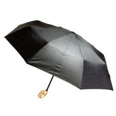 Зонт-кастет с золотой ручкой