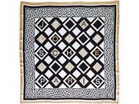 Платок шелковый Jean-Louis Scherrer Logo