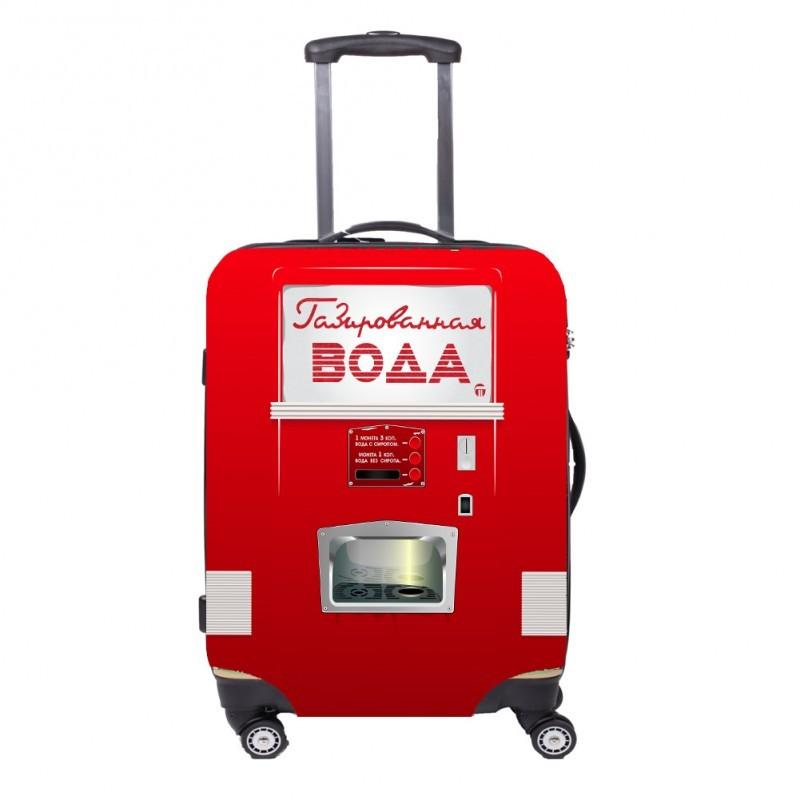 Чехол для чемодана FA FIT - Автомат с Газировкой ML