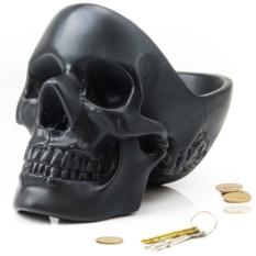 Черный органайзер для мелочей Skull